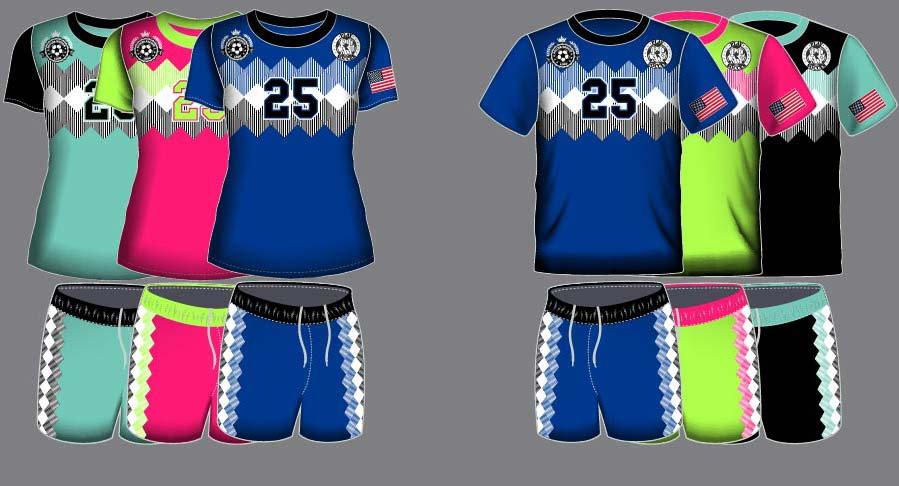 Dye Sublimation Soccer Uniform_SCR 1005_