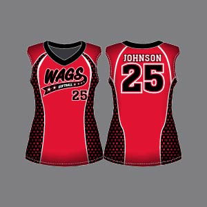 Dye Sublimation Softball Uniform_SFB 100