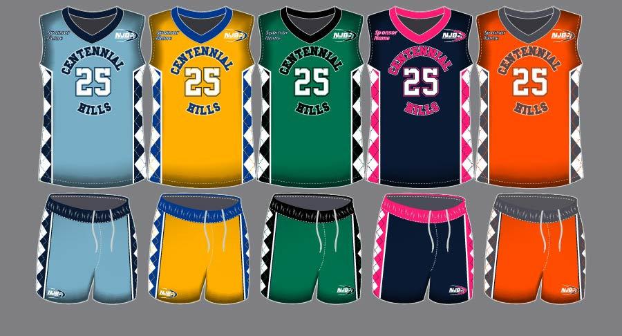 Dye Sublimation Basketball Uniform_BBK 1