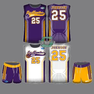 Dye Sublimation Basketball Uniform_BBK 2