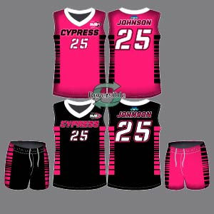Dye Sublimation Basketball Uniform_BBK 3