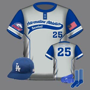 Dye Sublimation Baseball Uniform_BBL 100