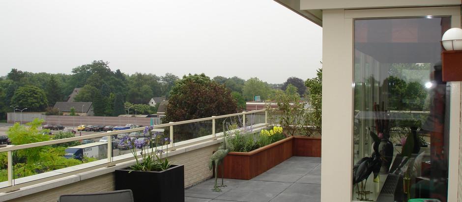 Een balkontuin