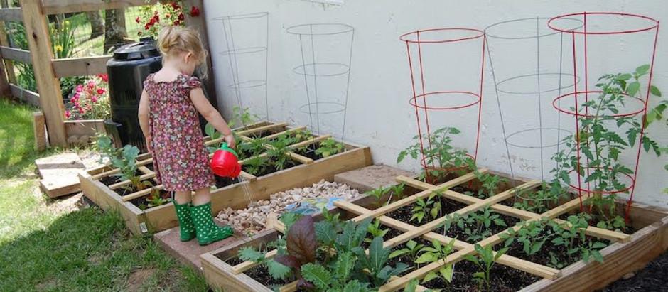 Voor kinderen is er écht wel plek in een kleine tuin