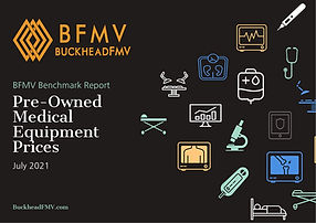 Pre-Owned Medical Equipment Report Cover