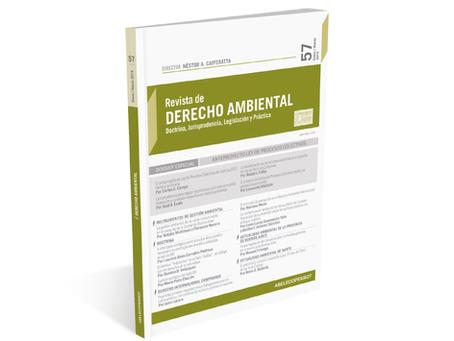 Thomson Reuters La Ley publicó el N° 62 de la Revista de Derecho Ambiental.