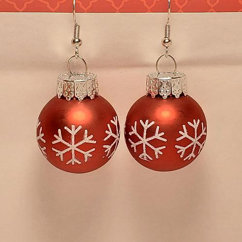 Snowflake Ornament Earrings (large)