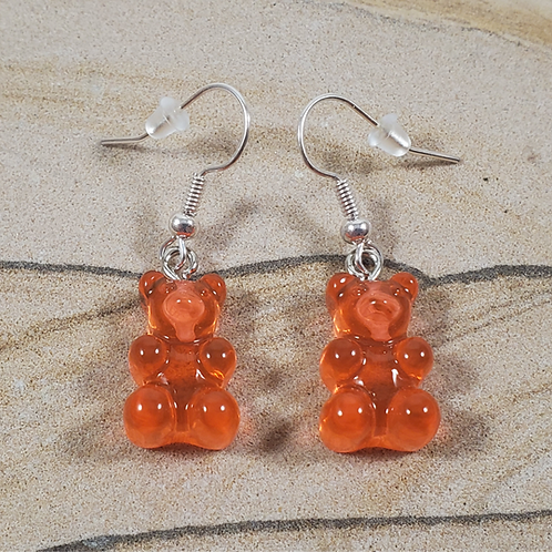 Gummy bear earrings (click for color options)