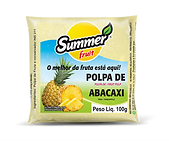 Polpa de Abacaxi Summer Fruit Guarapari