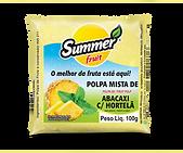 Polpa e Fruta Abacaxi Com Hortelã Summer Fruit Guarapari