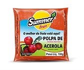 Polpa de Fruta Acerola Summer Fruit Guarapari