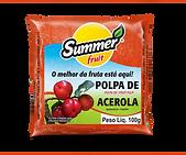 Polpa de Fruta Acerola Summer Fruit Guarapari