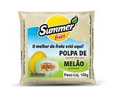 Polpa de Fruta Melão Summer Fruit Guarapari