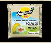 Polpa de Fruta Melão Summer Fruit Guarapari