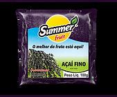 Polpa Açaí Fino Summr Fruit Guarapari
