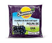 Polpa de Fruta UVA Summer Fruit Guarapari
