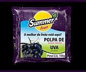 Polpa de Fruta UVA Summer Fruit Guarapari