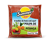 Polpa de Fruta Pitanga Summer Fruit Guarapar