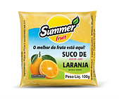 Polpa de Fruta Laranja Summer Fruit Guarapari