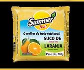 Polpa de Fruta Laranja Summer Fruit Guarapari