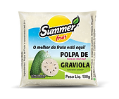Polpa de Fruta Graviola Summer Fruit Guarapari