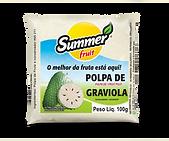 Polpa de Fruta Graviola Summer Fruit Guarapari