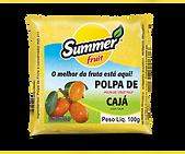 Polpa de Fruta Cajá Summer Fruit Guarapari