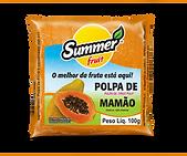 Polpa de Fruta Mamão Summer Fruita Guarapari