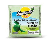 Polpa Limão Summer Fruit Guarapari