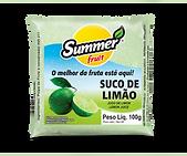 Polpa Limão Summer Fruit Guarapari