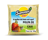 Polpa de Fruta Cajú Summer Fruit Guarapari