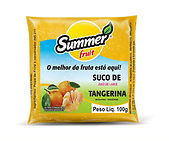 Polpa de Fruta Tangerina Summer Fruit Guarapari