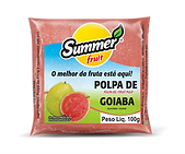 Polpa de Fruta Goiaba Summer Fruit Guarapari