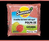 Polpa de Fruta Goiaba Summer Fruit Guarapari