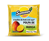 Polpa de Fruta Manga Summer Fruit Guarapari