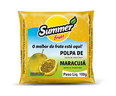Polpa de Fruta Maracujá Summer Fruit Guarapari