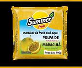 Polpa de Fruta Maracujá Summer Fruit Guarapari