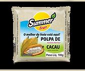 Polpa de Fruta Cacau Summer Fruit Guarapari