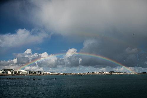 Rainbow - Guernsey (landscape)