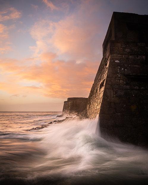 Storm Ciara - Sunrise Castle Cornet