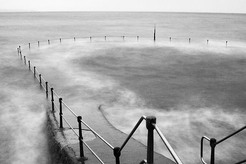 Bathing Pools - B + W