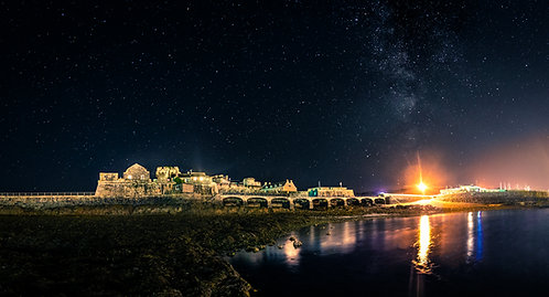 Castle Cornet - Milkyway Low tide