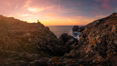 Sunset South Coast Man - Guernsey