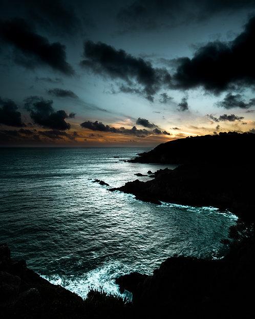 South Coast Cliffs Sunset - 2020