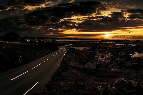 Albecq Road - Towards Vazon - Guernsey