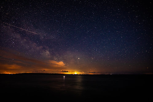 Milkyway over Jersey