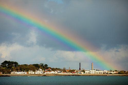 Rainbow - Guernsey (zoom landscape)