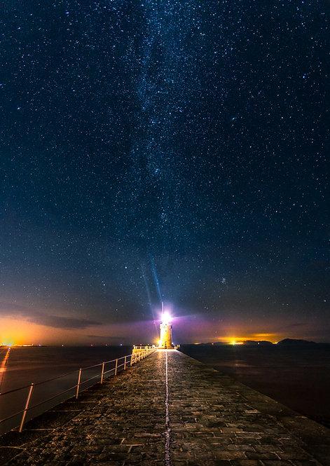 Breakwater Lighthouse - Milkyway