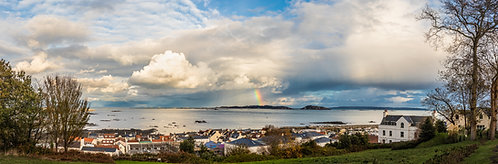 Rainbow over Herm 2