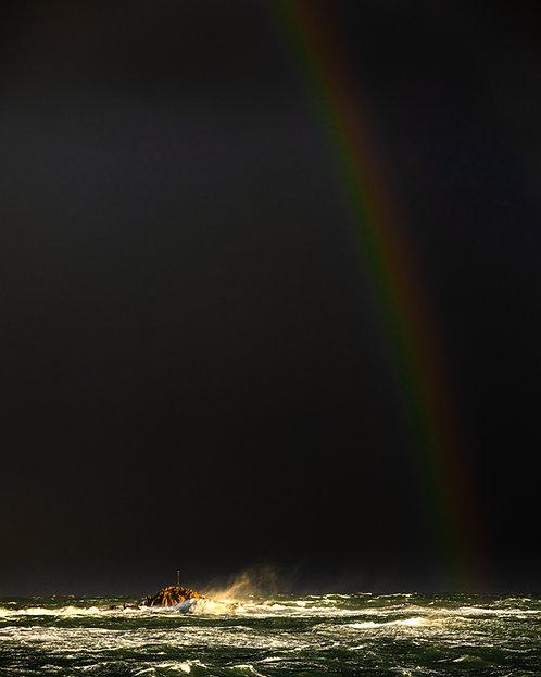 Storm Ciara - Grosse Rocque Rainbow